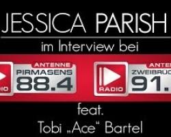Jessica Parish bei Antenne Pirmasens 88.4